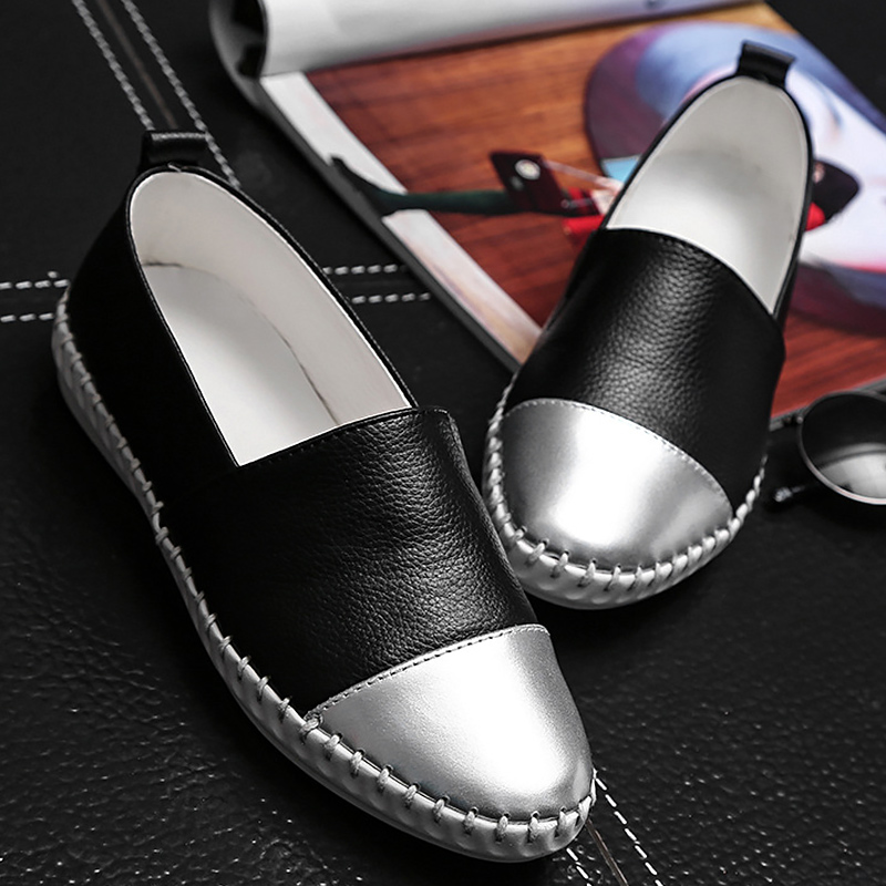 Women's shoes Loafers genuine leather swing mixed colors womens shoes balck and white shoes woman 2017 white/black zapatos mujer rakesh kumar tiwari and rajendra prasad ojha conformation and stability of mixed dna triplex
