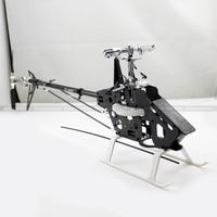 Труб450dfc карбоновая рама трубчатый вал 6CH 3D RC вертолет комплект подходит для выравнивания Trex 450