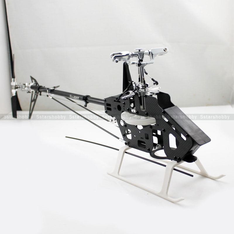 Gartt 450DFC FBL Carbon Frame Torque Tube RC Helicopter Kit Fits Align Trex 450 mb tgz380 3 axis gyro flybarless system for align trex t rex etc 450 550 600 700 rc helicopter fbl dfc