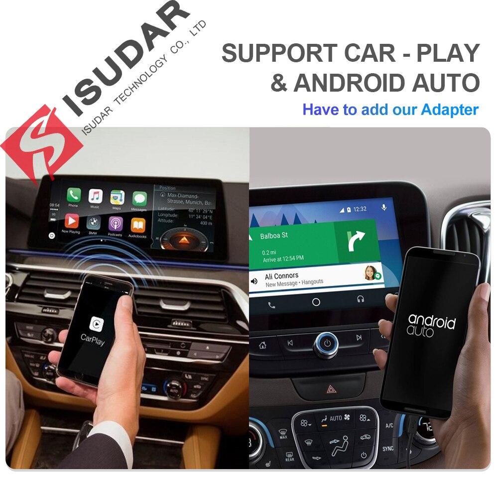 Isudar H53 4G Android Car Multimedia 1 Din Stereo per Volkswagen/Vw/Polo/Passat/Golf /Skoda/Fabia Ips Gps Radio Dvr 1080P Della Macchina Fotografica - 4
