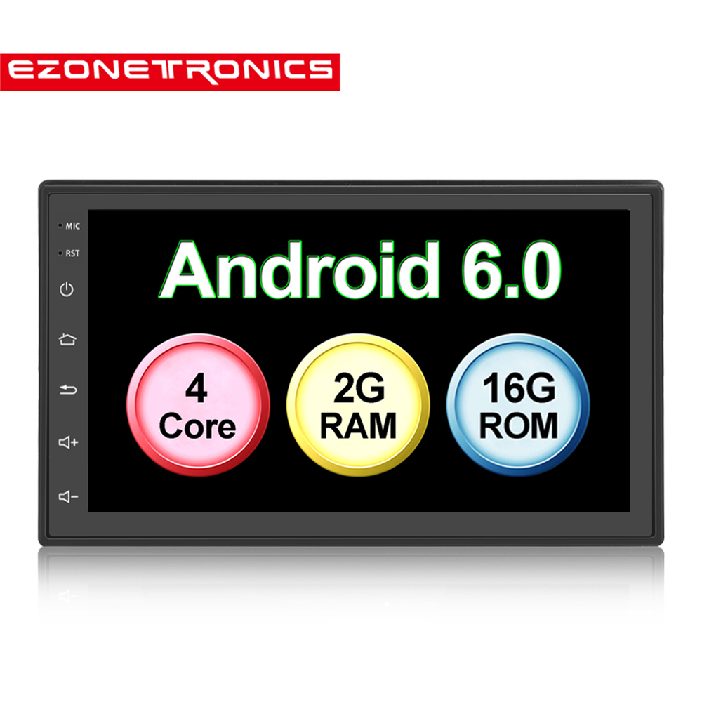 "Auto Radio 2 Din  1G/2G DDR Android 6.0 GPS Navigation Car Radio Car Stereo 7""1024*600 Universal Wifi Bluetooth USB Audio Player"