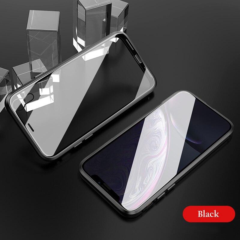 Μαγνητική θήκη από γυαλί για το iPhone Xs - Ανταλλακτικά και αξεσουάρ κινητών τηλεφώνων - Φωτογραφία 3