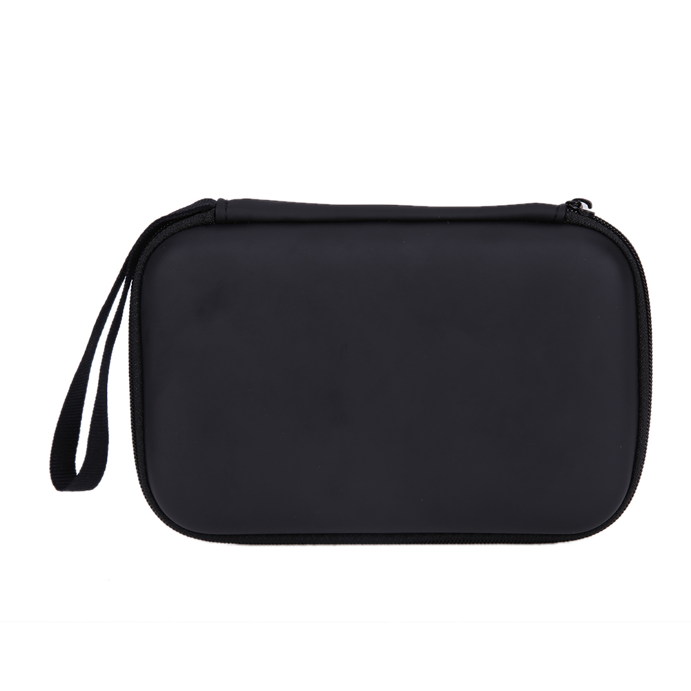 Black Classic EVA PU Case Cover Pouch For 2.5 USB External WD HDD Hard Disk Drive Protect Protector Bag Enclosure Case Box
