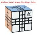 Novo! Confusão WitEden 4x4x3 Além Magic Cube Black Magic Cube Preto Puzzle Cubo Brinquedos Para crianças Brinquedos Educativos 443 Cubo