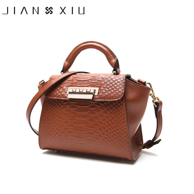 JIANXIU Women Messenger Bags  Split Leather Handbags Bolsos Mujer Sac a Main Tassen Bolsas Feminina Small Shoulder Crossbody Bag jianxiu handbags women messenger bags bolsa feminina sac a main bolsos mujer tassen nylon waterproof shoulder crossbody tote bag