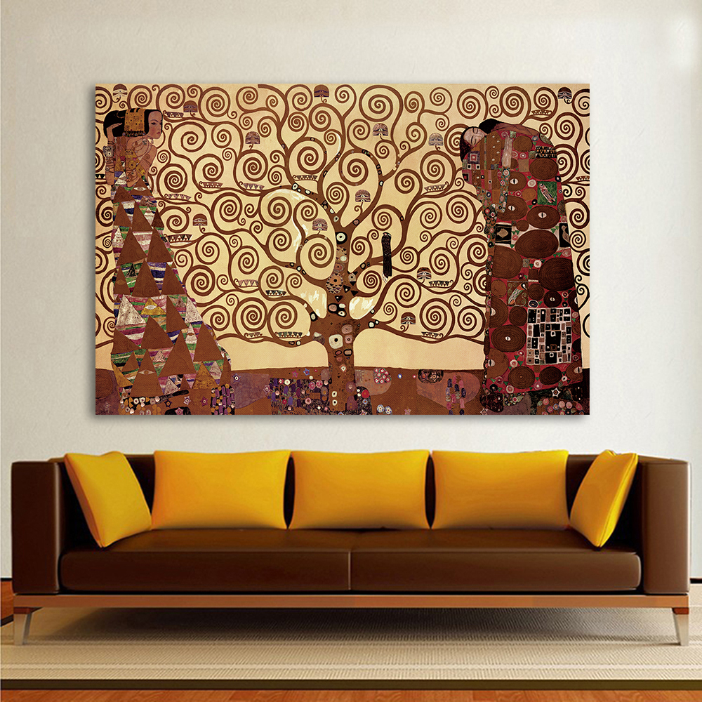 Hdartisan Canvas Art Tree Of Life Wall Pictures For Living