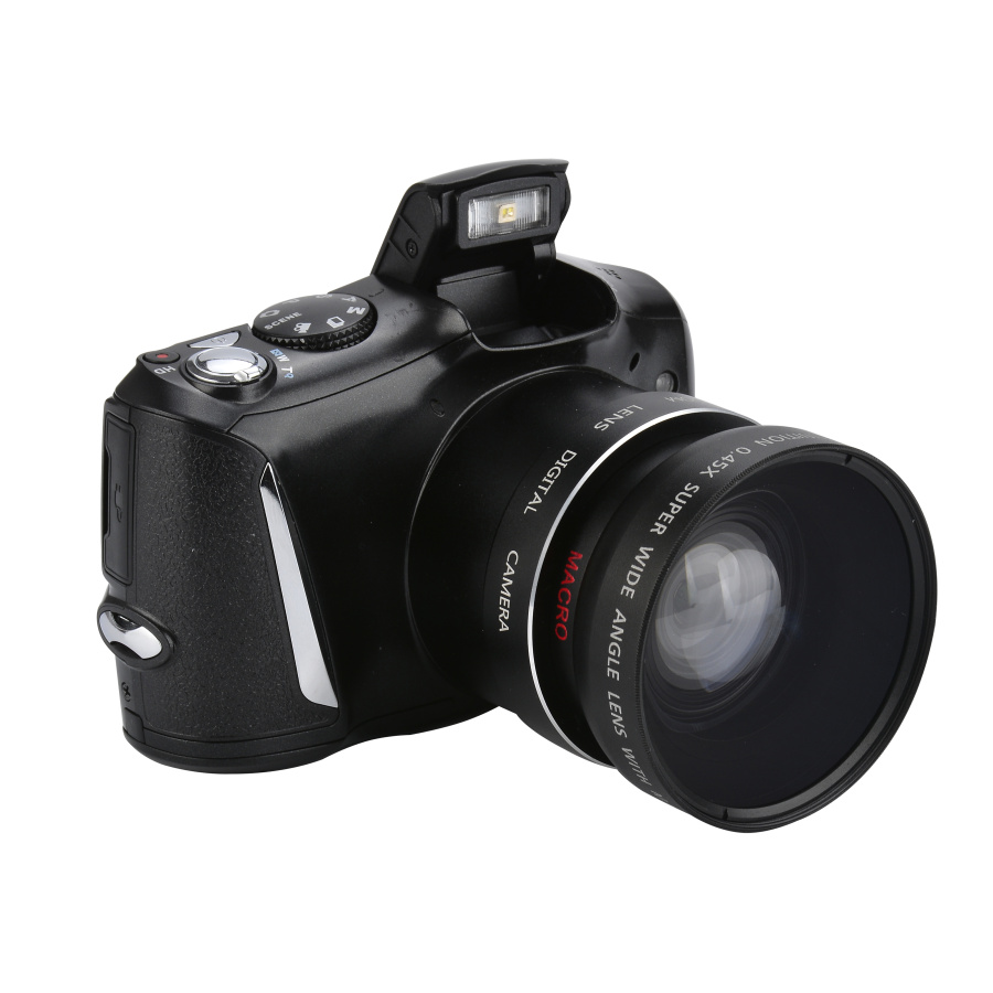 2017 Hot Camera DSLR Max 16MP 2.4 TFT LCD Screen Compact Digital Camera Wide Angle Lens 8x Digital Zoom Video Recorder DC 510T