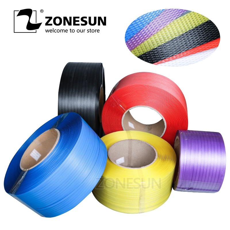ZONESUN Plastic Band PP Strapping PP Band industrial Packing Band цена