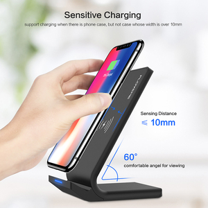 Image 5 - FLOVEME Qi Fast Wireless Charger สำหรับ iPhone XS MAX XR X 10W USB ไร้สายชาร์จสำหรับ iPhone X 8 PLUS สำหรับ Samsung Note 9