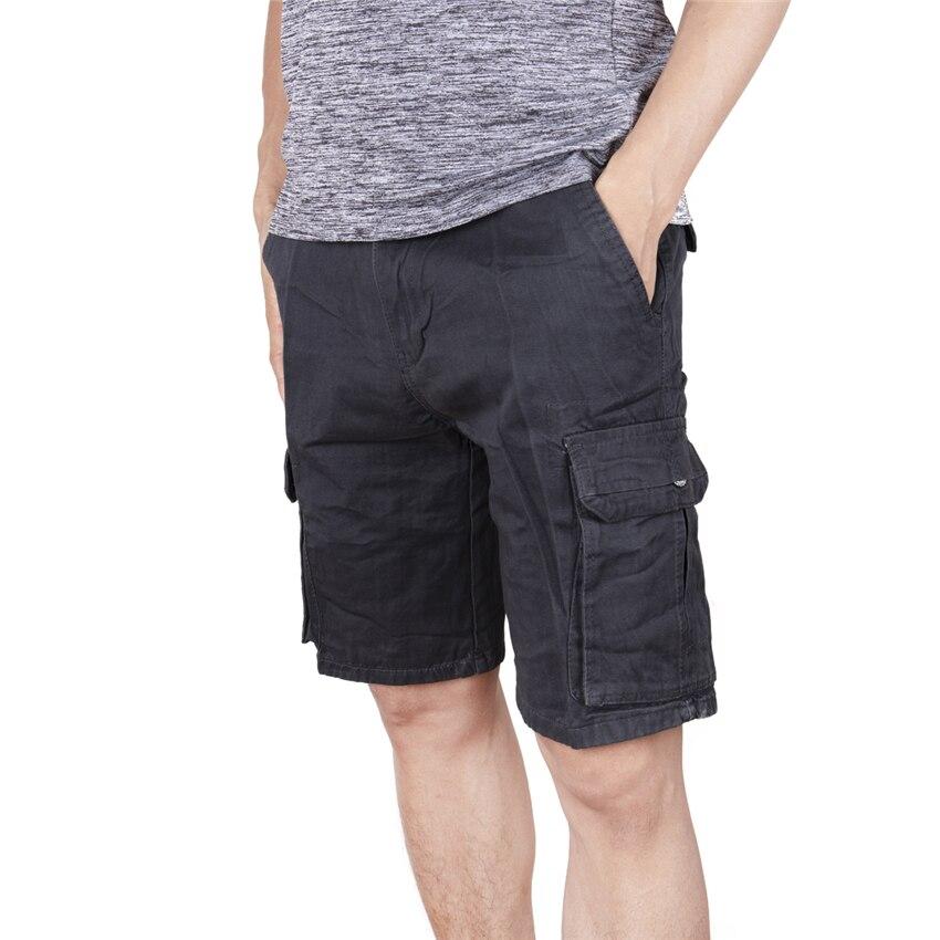 FLORATA Pocket Shorts Trousers Sweatpants Joggers Men Summer Plus-Size Casual Masculino