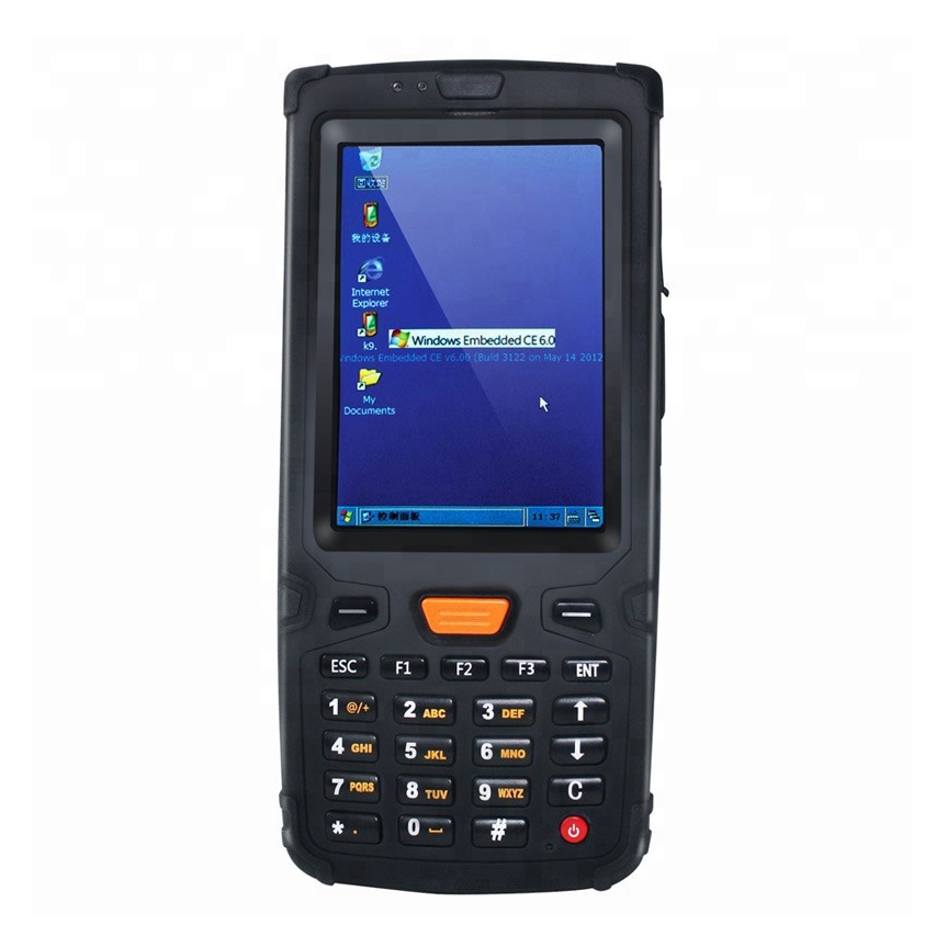 Windows CE 6.0 OS Rugged Handheld PDA Data Collector Terminal Support WIFI+bluetooth+1D/2D Hardware decoding barcode scanner