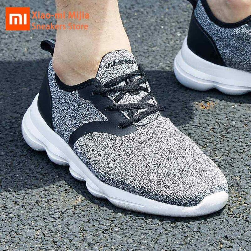 Xiaomi Mijia ulehelm chaussures de marche décontracté léger confortable semelle de rebond respirant tricot classique chaussures de loisirs Couple