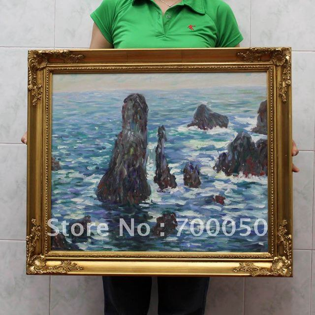 wooden painting frames landscape arts oil painting frame free shipping vg0061 - Wholesale Arts And Frames