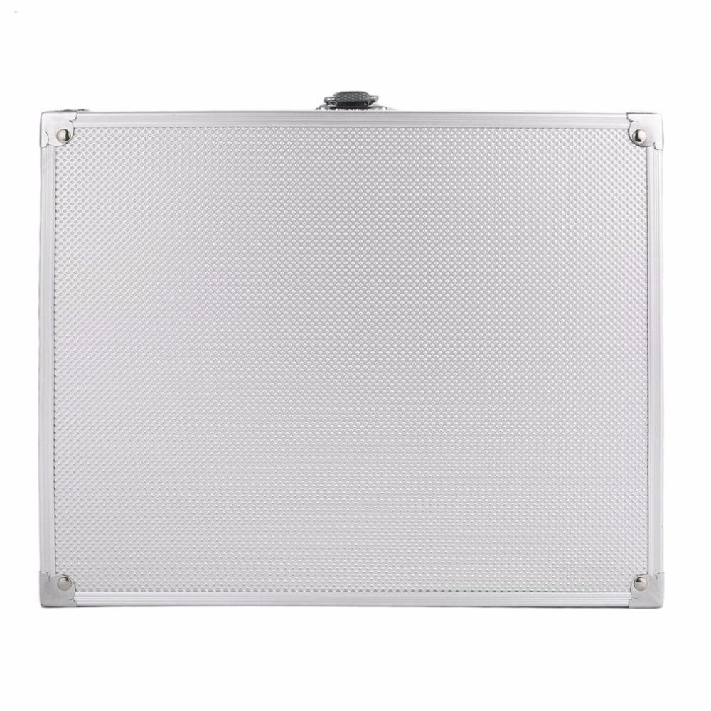 grade slots display prata caso quadrado camurça