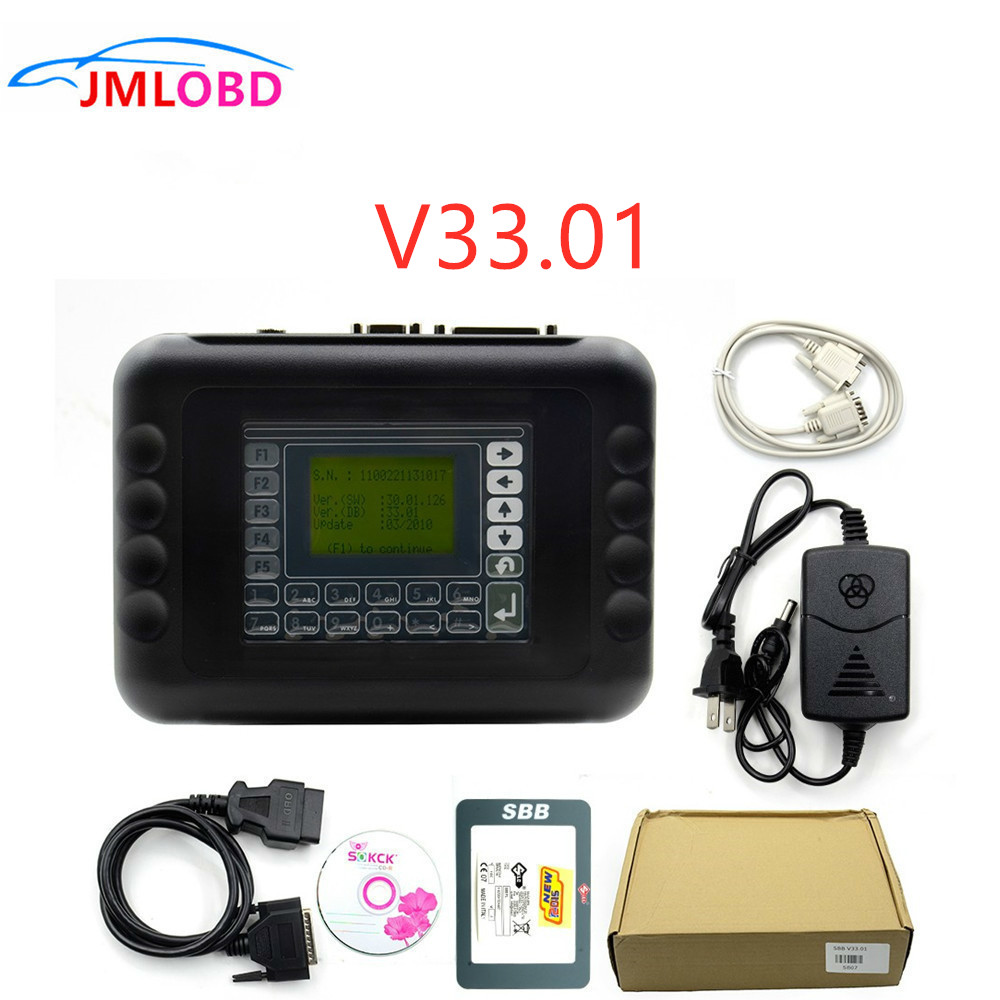 Newly SBB Key Programmer V33.01 No Token Auto Key Programmer SBB V33.01 Immobilizer Programmer Support most brazil car