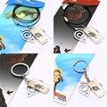 Naruto 3.5 cm Diadema de Metal Llavero Símbolo Con Collar de Japón Figura de Anime Colecciones Regalos de Los Cabritos Juguetes # F