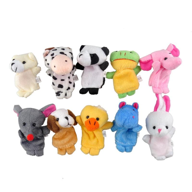 10-pcslot-christmas-mini-plush-baby-toy-animal-family-finger-puppets-set-fish-australia-princess-bug-boys-girls-finger-puppets-2