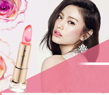 купить 2PCS/LOT KLJM 100% Original Magic Lipgloss Lipstick Color Temperature Change Moisturizer Bright Surplus Lipstick Lip care Makeup дешево