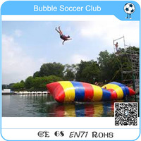Free Shipping Long Inflatable Water Blob Water Blob Jump,Giant Inflatable Water Catapult Blob For Sale