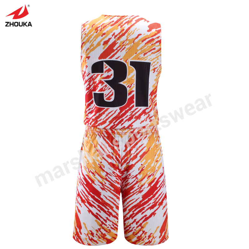 3fa782357bf Free shipping full sublimation OEM team jerseys basketball reversible  basketball vest custom uniforms for adult or -in Basketball Jerseys from  Sports ...