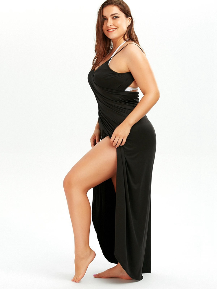 Plus Size Pareo Beach Cover Up Wrap Dress Bikini Swimsuit Bathing Suit Cover Ups Robe De Plage Beach Wear Tunic kaftan Swimwear 17