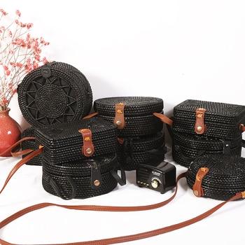 Handmade Woven Rattan Bags 3