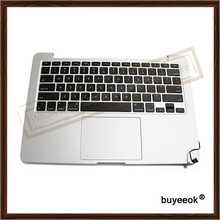 Original A1502 Topcase Replacment For Apple MacBook Pro A1502 2015 13″ Retina Top Case+ US Backlit Keyboard With Touchpad