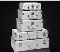 415*215*95mm storage case air box toolbox instrument case medicine equipment toolcase Cosmetic Box packaging suitcase
