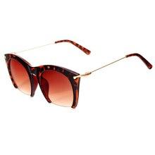 Superior de La Manera Semi-Sin Montura de las gafas Grandes Gafas de Sol Mujeres Diseñador de la Marca de La Vendimia Gafas Mujeres Gafas de Sol Feminino gafas de sol 2017 Gafas
