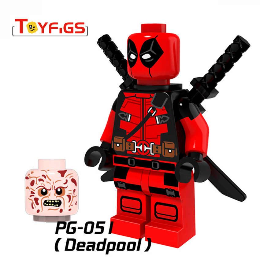 Одна распродажа duplo Venom Человек-паук супер герой экшн Фильм модель строительные блоки игрушки для детей мини Legoed кирпичные фигурки подарок