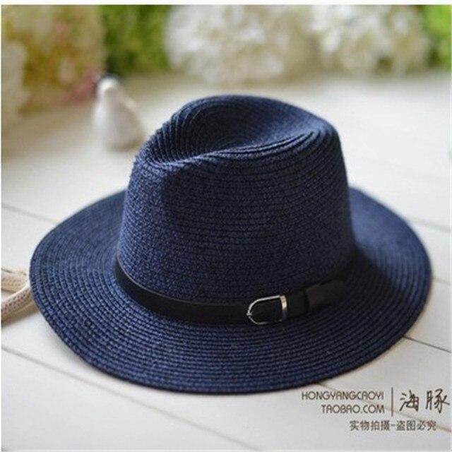 Панама летние шляпы для женщин сомбреро Gorro солнце пляж шляпа мужчины пары шляпа
