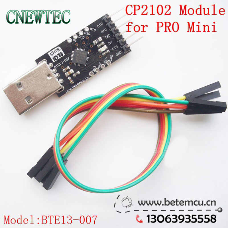 5 PCS CP2102 Serial Converter USB 2 0 To TTL UART 6PIN Module for