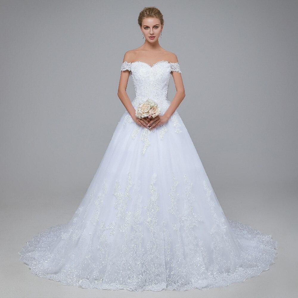 2018 New Arrival robe de mariage Bröllopsklänningar Skräddarsydda - Bröllopsklänningar - Foto 2