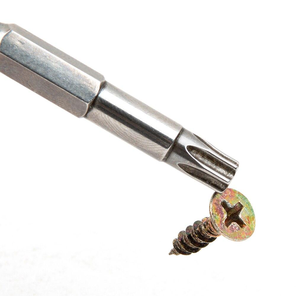 12 db Hex Torx fejfúró csavarhúzó készlet, 50 mm S2 acél - Kézi szerszámok - Fénykép 5