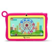 YUNTAB 7 pulgadas Tablet PC con Control Parental Q88R iWawa Software para el Aprendizaje, Juego 3D HD de Vídeo Compatibles con Chic soporte caso