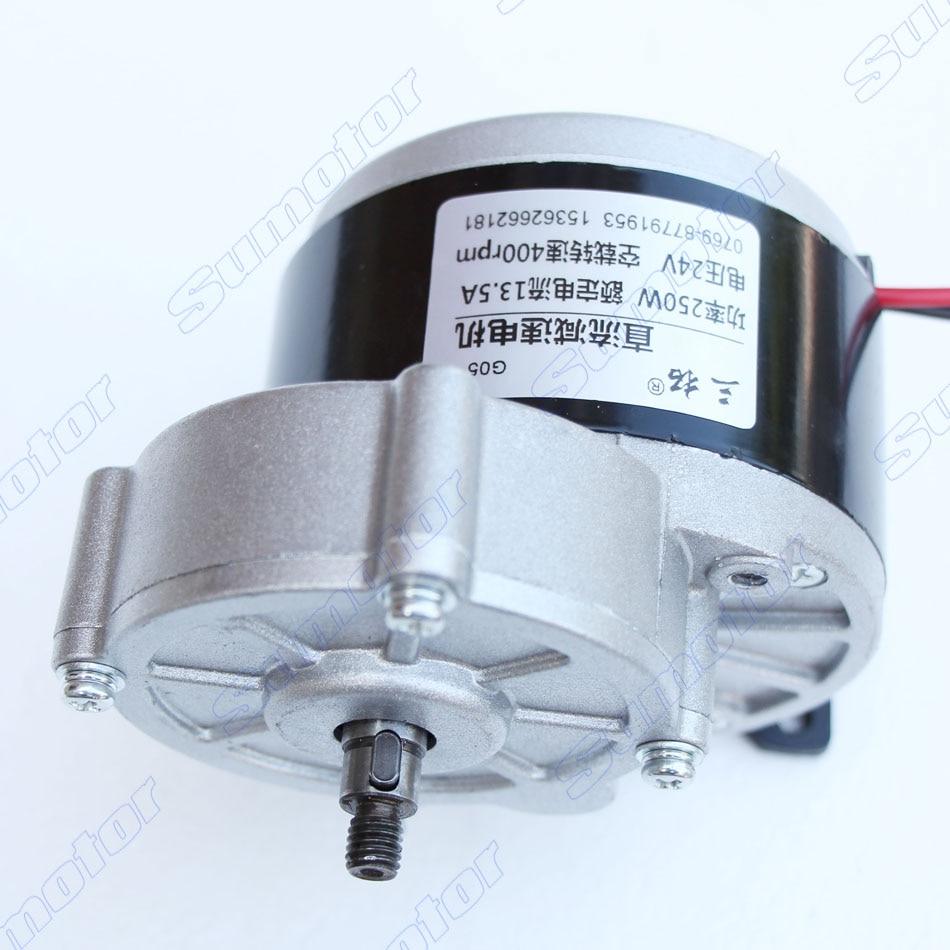 24V DC 500RPM High Torque Gear Box Electric Motor New