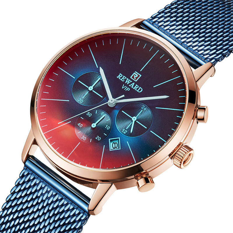 Top Brand Men Quartz Watch Stainless Steel Business Mens Waterproof Wriatwatch Fashion Male Ultra thin Clock Relogio Masculino