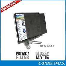 """Privacy Screen Film Blackout for 25"""" inch Widescreen(16:9) Computer Monitor , Free Shipping(China (Mainland))"""