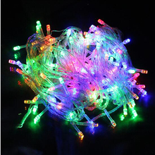 Aochern 2016 10M 100 LED Home Outdoor Holiday Christmas Decorative Wedding xmas String Fairy Garlands Strip Party Lights#A1001