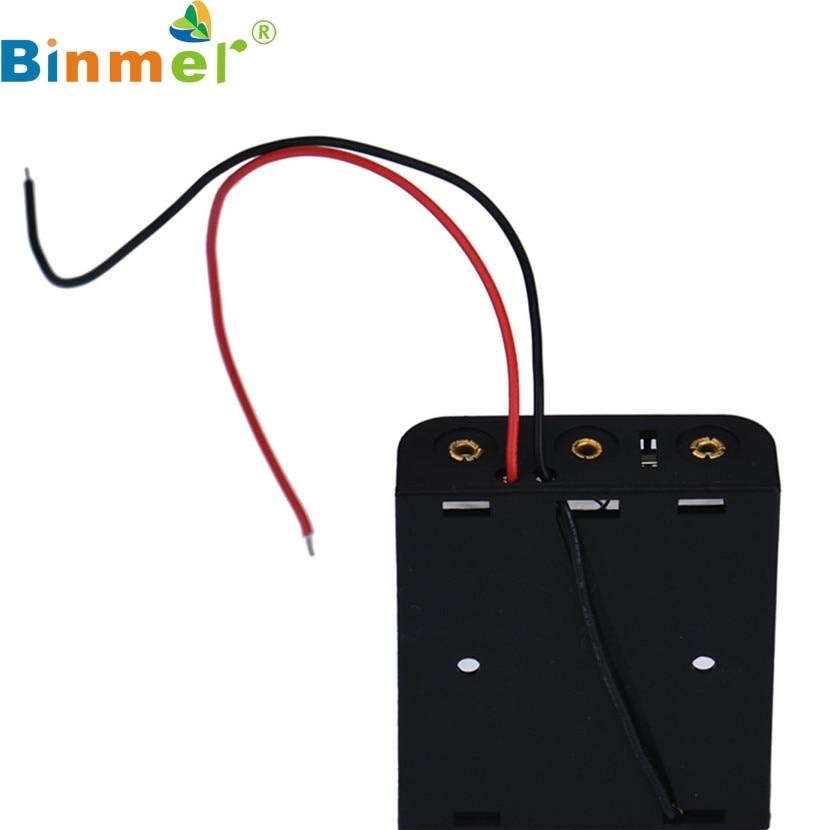 Binmer Mecall Tech AA Battery Holder Case Box Holder For 3 x AA ...