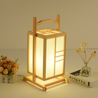 JaSimple Modern Wooden Led Desk Lamp panese style Art Deco Table Lamp Scotch Bedroom Bedside Lamp Home Deco Solid Wood Droplight