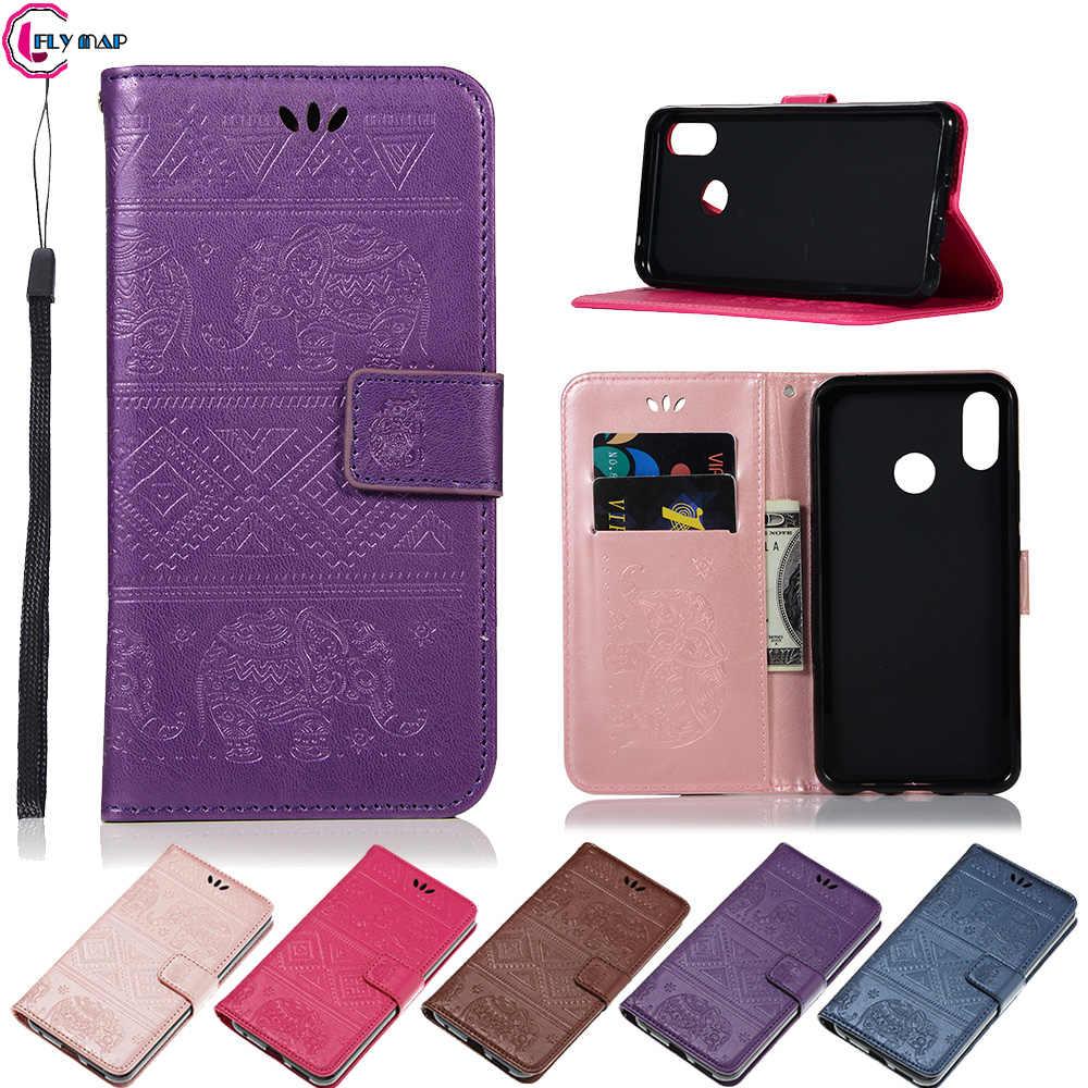 Elephant Case for Huawei Nova 3i INE-LX2 Retro Flip Wallet PU Leather Phone  Cover for Huawei NOVA3 i 3 i3 INE LX2 LX1 Coque Capa