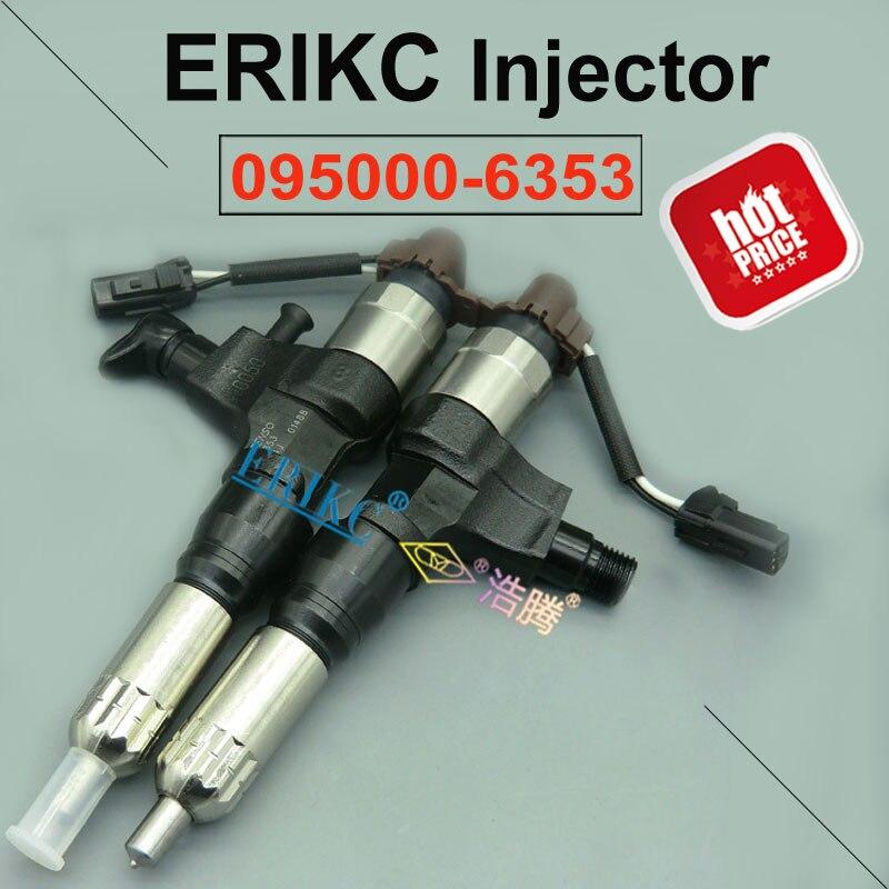 ERIKC 6353 מקורי דלק משאבת Dispenser מזרק 095000-6353 אוטומטי דיזל Piezo הזרקת הרכבה 0950006353 עבור Hino J05E J06