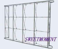 2.3mx3.8m Flower Wall Stand Aluminum Folded Flower Pipe Good Quality