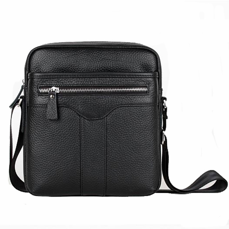 ФОТО 100% guarantee Genuine leather messenger bag man commercial casual male cowhide  shoulder bags 2015 bags for men