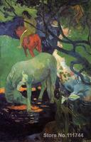 Paintings by Paul Gauguin The White Horse Hand painted oil painting canvas High quality