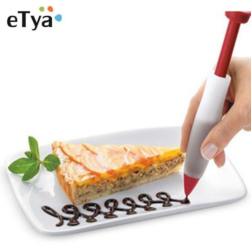 1PC Silicone Cake Pen Dessert...