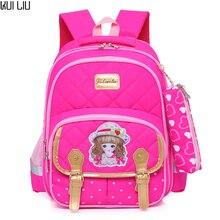 School Bags children backpacks For Teenagers girls Lightweight waterproof school bags child orthopedics Cute schoolbags female