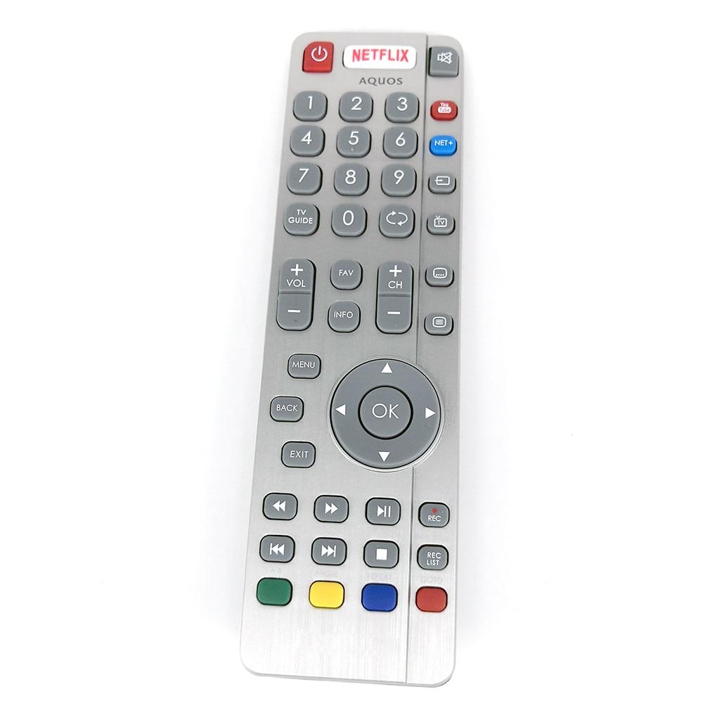 New Original DH1903130519 Remote Control For Aquos SHARP TV Remote NETFLIX Fernbedienung