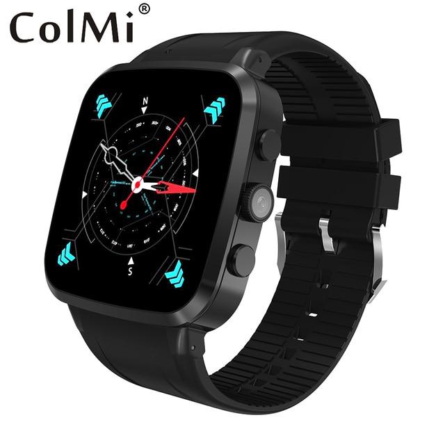 Colmi Смарт-часы Android 5.1 8 ГБ/512 МБ IP67 Водонепроницаемый 600 мАч большой Батарея Wi-Fi 3 г MTK6580 С sim-карты и SmartWatch
